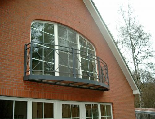 Metaalwerken maatwerk balkon